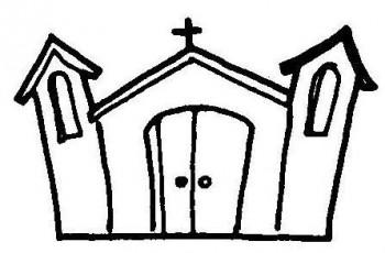 iglesias para colorear