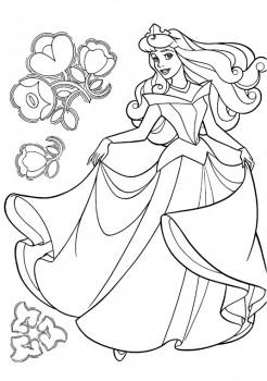 imagen de princesas para colorear