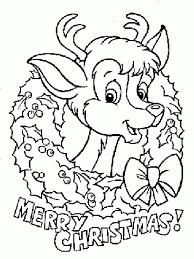 imagen para colorear de navidad