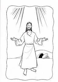 imagenes de jesús para colorear