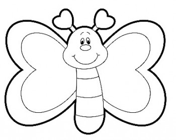 imagenes de mariposa para colorear
