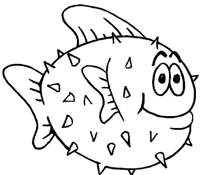 Imágenes de peces para colorear