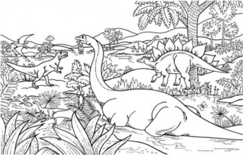 imagenes para colorear de dinosaurios