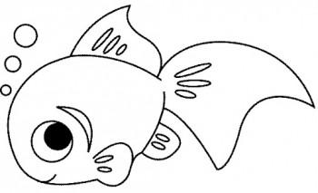 imagenes para colorear de peces