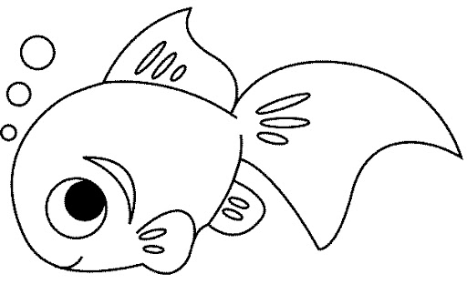 Im genes de peces para colorear - Dessin de poisson facile ...