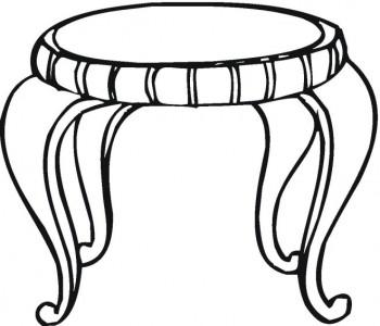 mesas para colorear