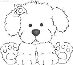 perritos para colorear